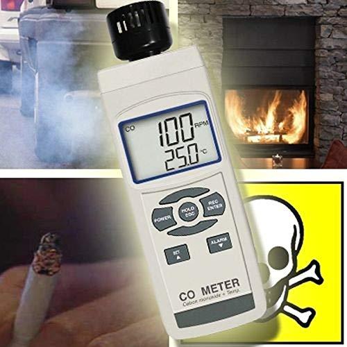 Kohlenmonoxid Messgerät CO Detektor Abgas Heizung Anlage CO5