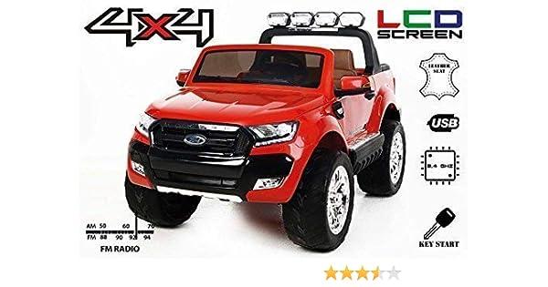 Ford Kinderfahrzeug LuxuryElektro Ranger Riricar 4x4 Wildtrak Lcd 54qALcjRS3