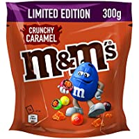 M&M's Crunchy Caramel LIMITED EDITION (4 x 300g)