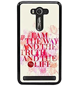 printtech Truth Of Life Back Case Cover for Asus Zenfone 2 Laser ZE550KL , Asus Zenfone 2 Laser ZE550KL (5.5 Inches)