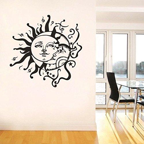 mairgwall-home-decor-de-sol-y-luna-vinilo-crescent-etnico-dual-simbolo-adhesivo-decorativo-dormitori