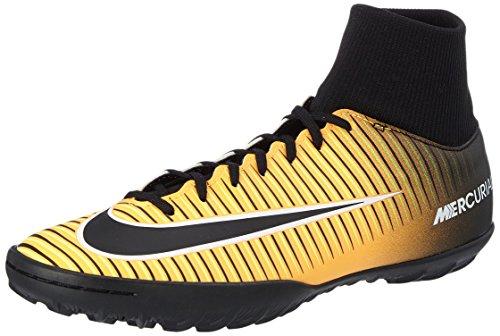Nike mercurialx victory vi df tf, scarpe per allenamento calcio uomo, arancione (laser orange/black/white/volt), 40 eu