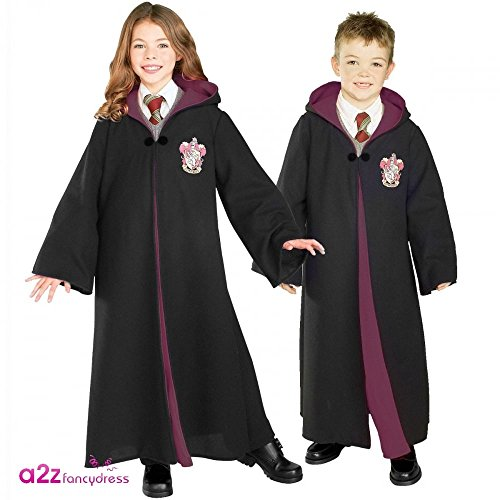 Costume-Officiel-Harry-Potter-Robe-Enfant-version-Deluxe-Taille-Moyenne-5-7-ans