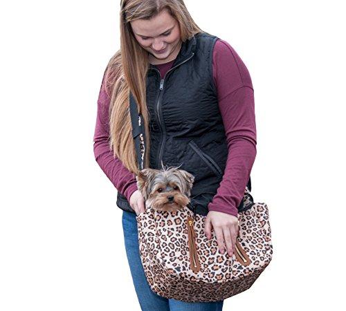 2 Lb 4 (Pet Gear R&R Tragetuch für Katzen/Hunde, Aufbewahrungstaschen, herausnehmbares waschbares Innenfutter, Reißverschluss Oben mit Netzfenster, XS/1-10 lb, Jaguar)