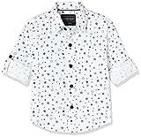 #2: Cherokee Boys' Plain Regular Fit Shirt
