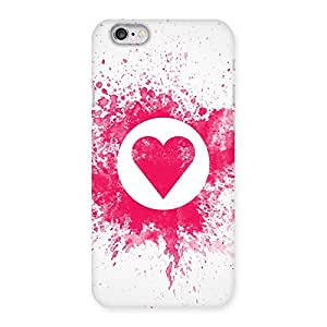Gorgeous Splash Heart Back Case Cover for iPhone 6 6S