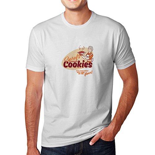 Planet Nerd - Carol's homemade Cookies - Herren T-Shirt Weiß