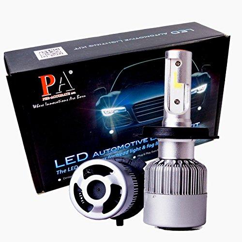 Preisvergleich Produktbild PA 1Set Automotive H4SCHEINWERFER Hi/Lo Beam weiß 120W High Power COB LED Auto KFZ Scheinwerfer Conversion Kits