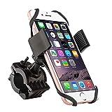 Supporto per Bicicletta del Supporto per Bicicletta del Telefono Cellulare, TANYAM Bici per Bicicletta per Manubrio per Bicicletta Supporto per Motociclo per Staffa Morsetto per Culla a 360 Gradi, Morsetto a Scivolamento per Smartphone Universali, iOS Android GPS