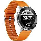 Huawei 55021526Fit Smart brazalete deportivo (tamaño: S) Moonlight Plata/naranja