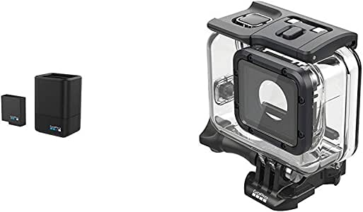 Gopro Dualladegerät Mit Akku Für Hero5 Schwarz Super Kamera