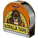 Gorilla 3044901 cinta para superficies irregulares, color plateado, 32 m