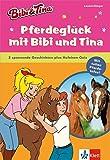 Bibi & Tina - Pferdeglück mit Bibi und Tina: 2 spannende Geschichten plus Hufeisen-Quiz. Extra: Mit tollen Pferde-Infos! Leseanfänger (Lesen lernen mit Bibi und Tina)