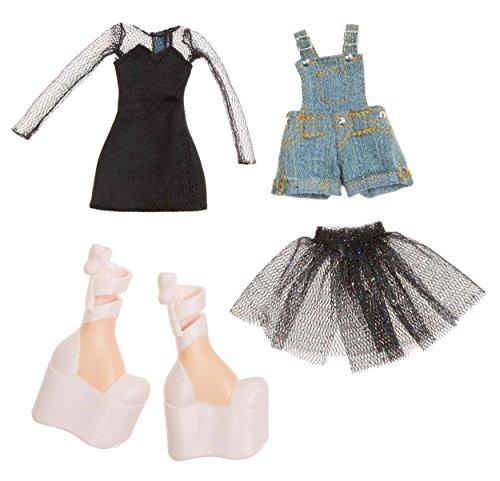 Bratz Fashion Pack # 5-Zubehör für Puppen (schwarz, blau, rosa, Kunststoff, CE)