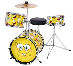 Spongebob 3 Piece Junior Drum Kit