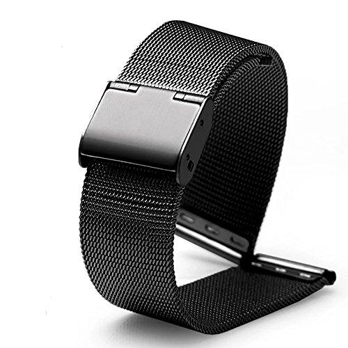 DL Milanais Montre Bracelet, 18 20 22 mm Acier Inoxydable Remplacement Montre Bande pour Femme et Homme