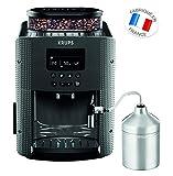 Krups YY4081FD Machine à Café Automatique avec Broyeur à Grains Expresso avec Mousseur à Lait...