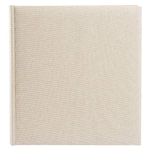 Goldbuch Album Photo, Summertime Trend 2, 30x 31cm, 100Pages Blanches de Papier Cristal-Intercalaires, Lin, Beige, 31605