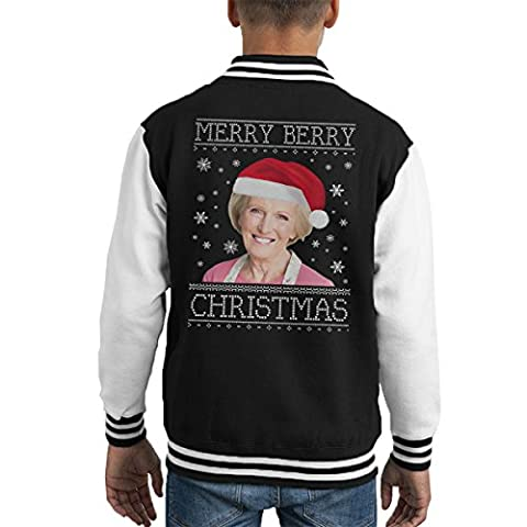 Have A Merry Berry Christmas Knit Kid's Varsity