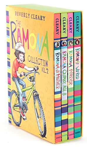 The Ramona Collection, Volume 2: Ramona and Her Mother; Ramona Quimby, Age 8; Ramona Forever; Ramona's World (Ramona Collections)