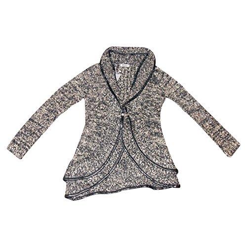 Generic - Gilet - Femme Taille Unique gris/noir