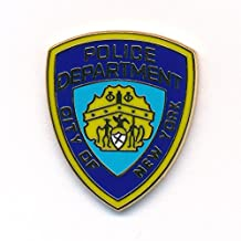 Police Department New York NY Badge NYPD Emblem Polizei Pin Anstecker 0090