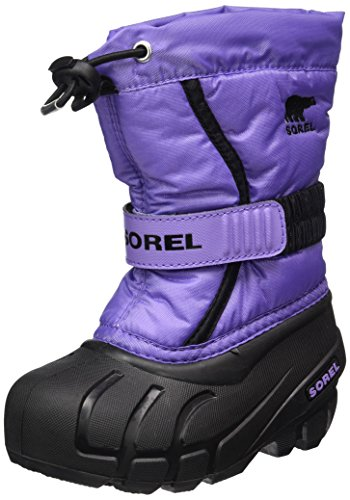 Sorel Childrens Flurry, Kinder Schneestiefel, Violett (Paisley Purple/Black), 28 (Yoot Sorel Boot Pac Kids)