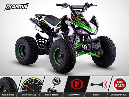 Quad Enfant 125 cm3 - PANTHERA Limited Edition...