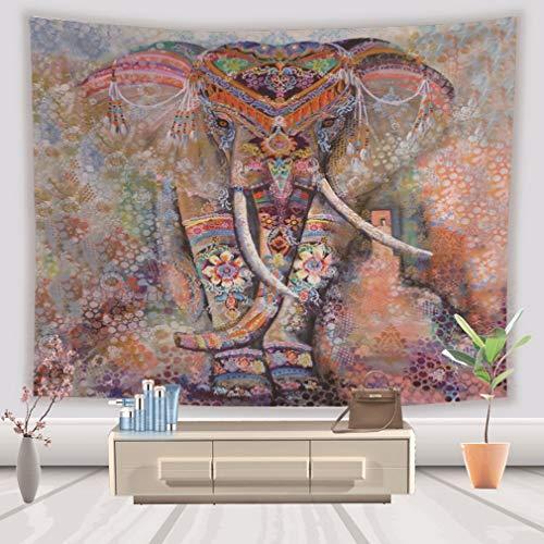 Lihan Tapicería Diseñador Indian Elefante Hippie Mandala de Pared Ta