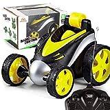 Pagacat Los niños se refrescan 360 grados girando el control remoto inalámbrico Stunt Tumble Car Toy Woks eléctricos