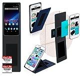 reboon Hülle für Phicomm Energy 3 Plus Tasche Cover Case Bumper | Blau | Testsieger