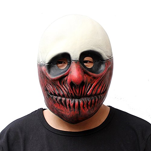 Latex Halloween Clown-Maske Halloween Kostüm-Party Requisiten (Tv Kostüme Halloween Beste)