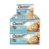 Vanilla Almond Crunch , 24 Count : Quest Nutrition Protein Bars, Vanilla Almond Crunch, 24 Count