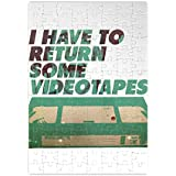 Video Tapes Jigsaw Puzzle laberinto Jigsaw Puzzle Maze| Unique And Custom Learning Games For Kids & Adults| Learning Made Fun With Custom Design & Printed Jigsaw Puzzles