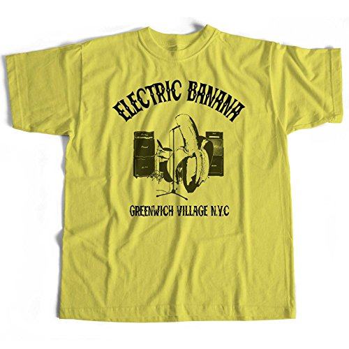 Inspired by Spinal Tap T shirt - Electric Banana (M) (Spinal Tap Shirt T)