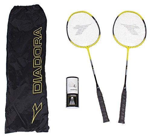 DIADORA Badminton-Set, Schwarz, Uni