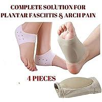Gel Plantarfasziitis Fußgewölbe Sleeve Kissen Fuß Schmerzen Ferse Orthopädische Einlegesohle preisvergleich bei billige-tabletten.eu
