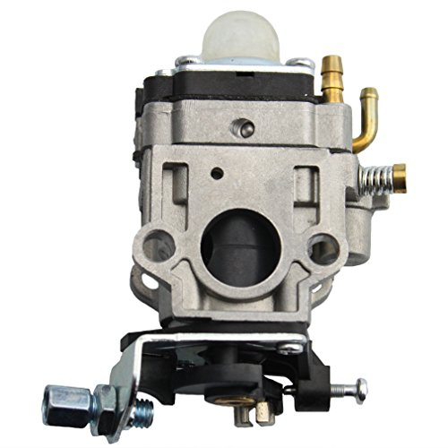 GOOFIT 15mm Carburateur Carb pour 49cc 2stroke Moteurs Pocket Bike