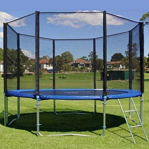 morocca Trampolin Set 250/305/366/400/430cm Kinder Gartentrampolin Komplettset Netz