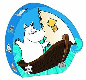 Moomins - Puzzle silueta en la playa (Barbo Toys 6604)