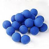 recarga de bolas para Nerf Rival,AmaMary 50 piezas Bullet Balls Rounds Compatible para Nerf Rival Apollo niño juguete (azul)