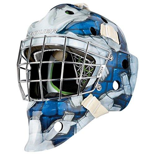 Bauer NME4 Goalie Maske Motive Junior, Farbe:Wall Blue -