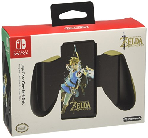 Power A - Joy-Con Comfort Grip, Zelda BOTW - Nintendo Switch [Edizione: Spagna]