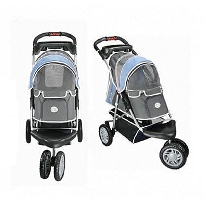 Pet Stroller Ips-09/Blue, dog carrier, trolley, Trailer, Innopet, Buggy First Class. Foldable pet buggy, pushchair, pram… 5