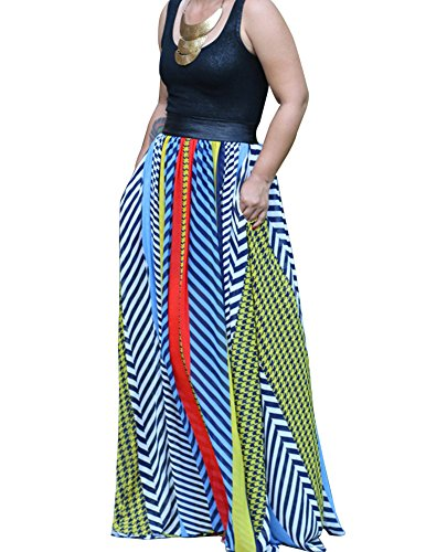 Damen Ärmellos Strandkleid Lang Strandkleid Blumen Bunt Maxi Kleid Sommer Casual Cocktailkleider Als Bild