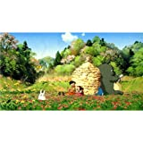 My Neighbor Totoro (44inch x 24inch / 110cm x 60cm) Silk Print Poster - Soie Affiche - CB823D