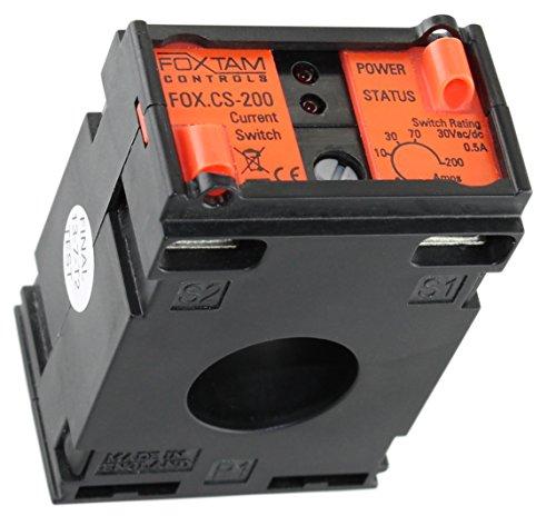 Preisvergleich Produktbild FOX-CS Stromrelais als Lastwächter für einphasigen Wechselstrom 2A bis 200A