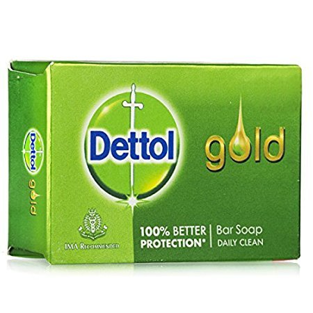 Dettol Gold Daily Clean Anti-Bacterial Bar Soap (65GM, Pack of 3)
