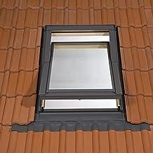Dachfenster Schwingfenster 94x118 118x94 mit Eindeckrahmen Dauerlüftung