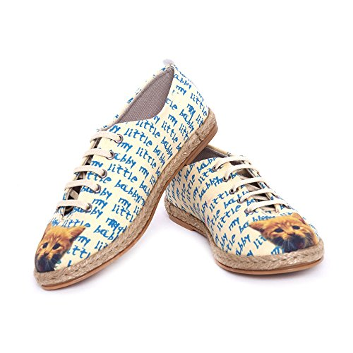 Goby UK FBR1218-1219-225-1226, Mocassins Pour Femme Multicolore My Little Baby